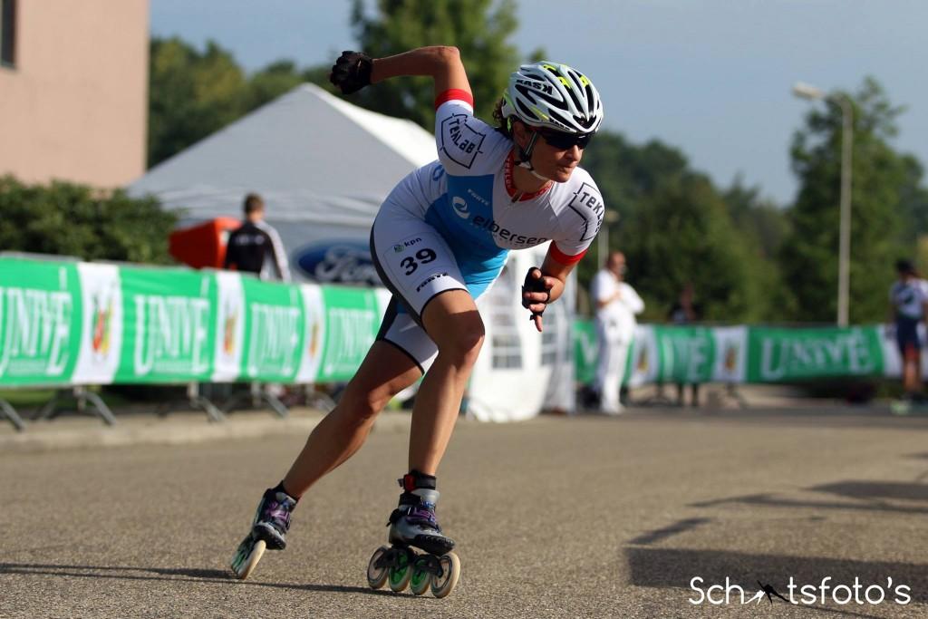 NK Inline skaten op de weg